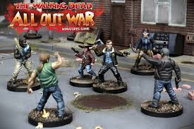 The Walking Dead All Out War Miniatures Game