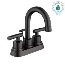 Glacier Bay Bathroom Faucets Instructions by Glacier Bay Dorset 4 In Centerset 2 Handle High Arc Bathroom