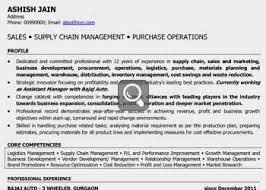 Amusing Sample Resume For Operations Manager In India On Senior Managers And Professionals