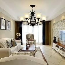 Lighting Groups Industrial Retro Living Room Chandeliers American Creative Bedroom Lamp Wrought Iron Dining Chandelier