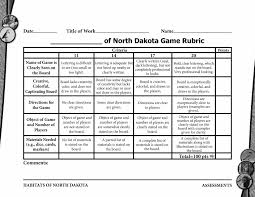 Habitats North Dakota Game Rubric