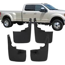 IKONMOTORSPORTS: Front Rear Molded Splash Guards Mud Flaps For Ford F150 2015 2017 Husky Liners Kiback Lifted Trucks 2000 Excursion Lost Photo Image Gallery 72019 F350 Gatorback Flap Set Vehicle Accsories Motune Rally Armor Blue Focus St Rs Rockstar Hitch Mounted Best Fit Truck Buy 042014 Flare Rear 21x24 Ford Logo Dually New Free Shipping 52017 Flares 4 Piece Guard For Ranger T6 Px Mk1 Mk2 2011 Duraflap Fits 4door 4wd Ute