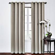 Eclipse Blackout Curtains 95 Inch by Round U0026 Round Thermaweave Blackout Window Curtain