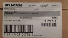 sylvania lighting 17 watt t8 fluorescent light bulb fo17 835 xp