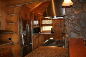 Rustic Log Cabin Kitchen Ideas by How To Smartly Organize Your Log Cabin Kitchen Designs Log Cabin