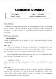 Account Manager Resume Objective Examples 21 Download Inspirational Management Business Of 19 Free