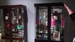 rohe curio cabinet by philip reinisch in black or espresso youtube