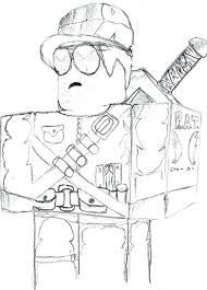 Roblox Coloring Pages Denis