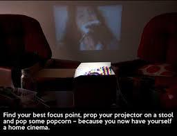 DIY Smartphone Projector