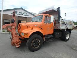 100 Plow Trucks For Sale 2001 International 4900 Spreader Truck 206226