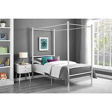 queen canopy bed ebay
