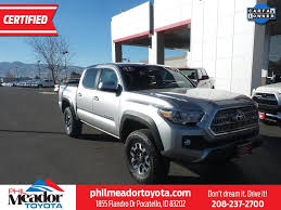 Toyota Tacoma Trucks For Sale In Idaho Falls, ID 83401 - Autotrader See Our Featured Used Cars And Trucks At Idaho Falls Ford Dealership Gmc Canyons For Sale In Id Autocom Trucks Mountain Home 83647 Autotrader Chevrolet Of Twin Your Southern Near Jerome 2019 Taxa Outdoors Mantis Trek Rvtradercom Used Silverado 2500hd For Cargurus Gm New Cars Wackerli Buick Cadillac 2009 Sierra 2500 Sle 24783923 Preowned 2005 Dodge Ram Slt Qc R745984b Ron On Cmialucktradercom Truck Trailer Sales Rentals Aberdeen Id Diesel Depot