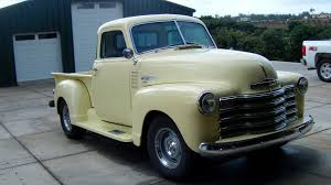 Image Of 1952 Chevy Truck Restoration 1952 5 Window Restored Chevy ...