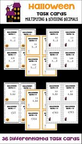 Halloween Multiplication Worksheets 4th Grade by 3859 Best 5th 7th Grade Math Ideas Images On Pinterest Sixth