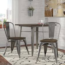 Farmhouse Metal Chairs You'll Love In 2019 | Wayfair Kings Brand Fniture 3 Piece Bronze Metal Square Ding Kitchen Dinette Set Table 2 Chairs Elixir 80in Rectangular With Base By Hooker At Dunk Bright Costway 5 4 Wood Breakfast Chic Gray Room With Rustic And Vintage Louis Pair Of Silver Velvet Mirrored Legs Vida Living Tempo Glass C1860p Industrial Round Lifestyle Sam Levitz Fixer Upper A Contemporary Update For A Family Sized House Hot Item Cheap Leg Chair Vecelo Sets Pcs Embossed White Montello 3piece Old Steel
