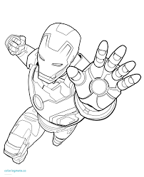 Ironman Coloring Pages Lovely Page Iron Man Coloriafes Free