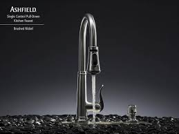 Pfister Ashfield Kitchen Faucet by Brushed Nickel Ashfield 1 Handle Pull Down Kitchen Faucet Gt529