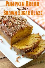Cake Mix Pumpkin Bread by Pumpkin Bread With Brown Sugar Glaze The Country Cook