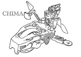Laval Take Command On War Lego Chima Coloring Pages Batch