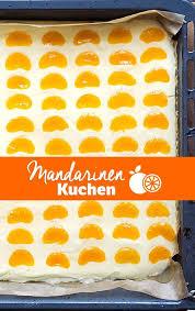 mandarinen schmand kuchen vom blech