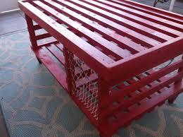 Decorative Lobster Trap Uk by The Big Red Wooden Lobster Trap Coffee Table Made