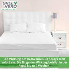 green bettbugen ex bed bug repellent spray 500ml bed