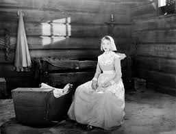 Lillian Gish as Hester Prynne in a scene from The Scarlet Letter