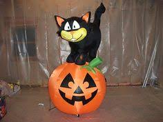 Inflatable Halloween Cat Archway by Gemmy Prototoype Halloween Black Cat Archway Inflatable Airblown