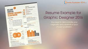 Best Resume Examples In 2016
