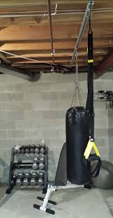 Punching Bag Ceiling Mount by Tuffrail Com
