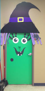 Pictures Of Halloween Door Decorating Contest Ideas by Witch Door Decoration I Created Things I Made Pinterest