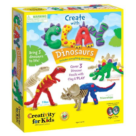 Creativity for Kids - Create with Clay - Dinosaurs