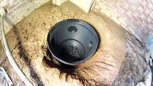 encapsulate crawl space or not ideas drain system get water out of