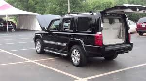 for sale 2006 jeep commander trail rated 1 owner rear ent