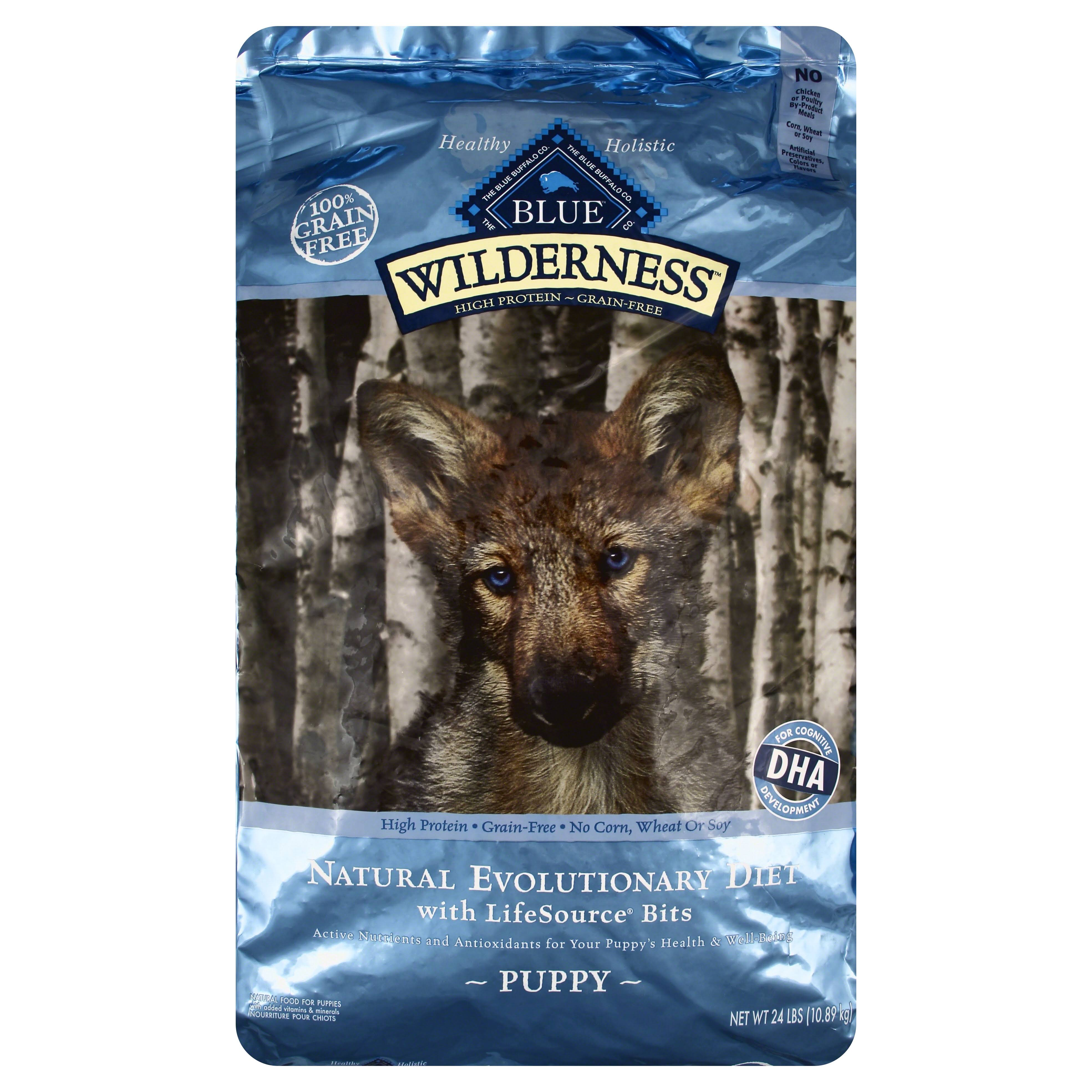 Blue Buffalo Wilderness Puppy Dog Food - Chicken Recipe