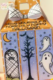 Trixie The Halloween Fairy Book Report by Jaded Blossom Halloween Panel Gable Box