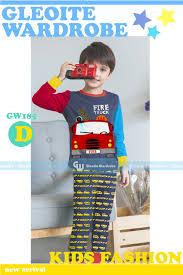 Jual GW185D1 - PIYAMA GW KIDS FIRE TRUCK - Peek A Boo Online | Tokopedia