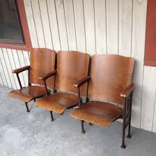 Craigslist Barber Chairs Antique by Antique Theatre Seating Or Church Seats Connected By Thedirtyloft