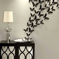 Black Butterfly Wall Art