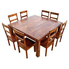 Latest Large Dining Table And Chairs Dallas Ranch Square Pedestal Chair Set