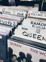 Rolling Stones Rock Vinyl Rush Queen