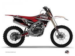 kit déco moto cross techno yamaha 250 yzf kutvek kit graphik