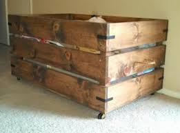 Free Easy Wood Toy Plans by You Can Build This Easy Toy Box On Casters Simply Awesome Free