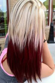 My Next Hair Color Project Crimson And Platinum Blonde Overlay Kid Approved Mom
