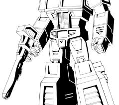 Optimus Prime Coloring Pages Printable 20 Free