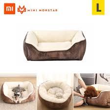 xiaomi youpin pet weichbett für hunde katzen abnehmbare hundehütte haustierbett nest rutschfeste wasserdichte basis maschinenwaschbar langlebig