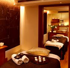 Day Spa London UK Hospitality Interior Design Couples Suite Elemis
