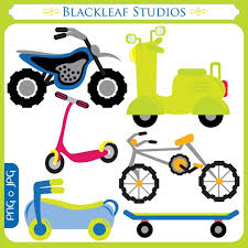 Scooter Clipart Bicycle 2