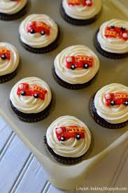 I Heart Baking!: Firetruck Birthday Cupcakes Howtocookthat Cakes Dessert Chocolate Firetruck Cake Everyday Mom Fire Truck Easy Birthday Criolla Brithday Wedding Cool How To Make A Video Tutorial Veena Azmanov Cakecentralcom Station The Best Bakery Of Boston Wheres My Glow Fire Engine Birthday Cake In 10 Decorated Elegant Plan Bruman Mmc Amys Cupcake Shoppe