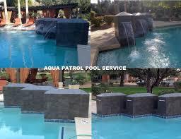 aqua patrol pool service repairs swimming pool tile cleaning